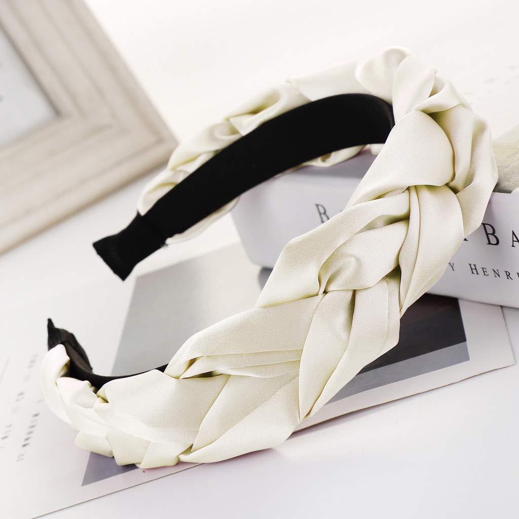 knoten elastische haarband florale turban kopf wickeln damen verdreht stirnband