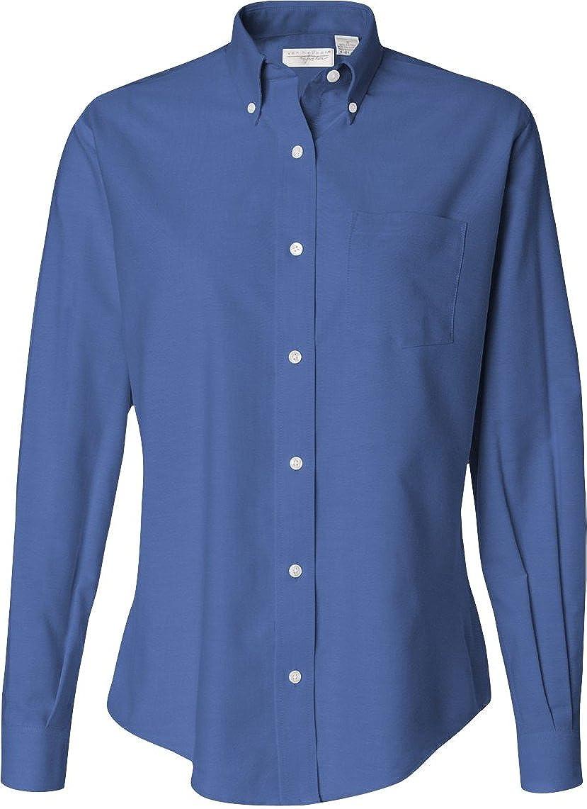 Van Heusen Ladies Oxford Shirt at Amazon Women's Clothing store ...