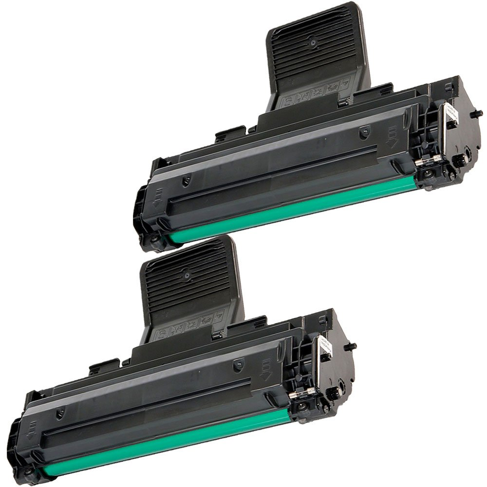 2 Ink First Toner Cartridges MLT-D108S ( MLTD108S ) Compatible Remanufactured for Samsung ML-1640 ML1640 Black ML-2240 IF-ML1640-2PACK(A)