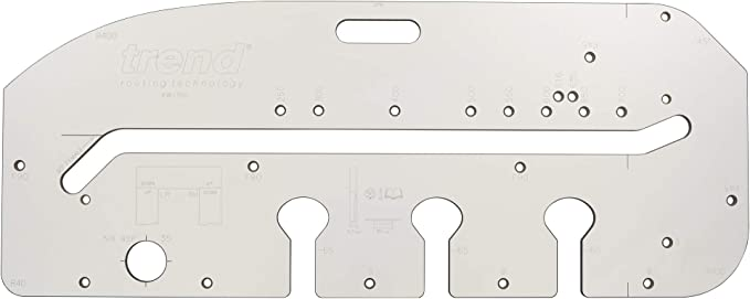 Silverline Worktop Jig corner Joints And Peninsular Joints In Worktops Up