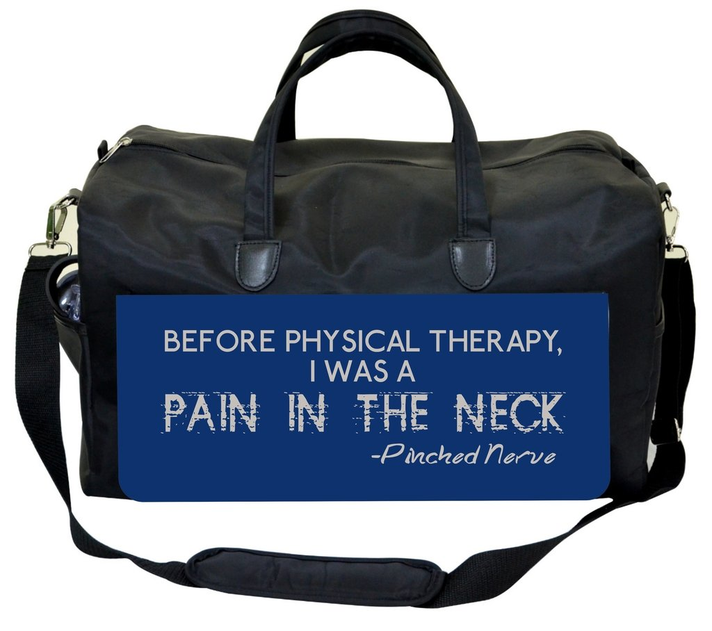 Funny Quote-Blue Jacks Outlet Physical Therapist Bag