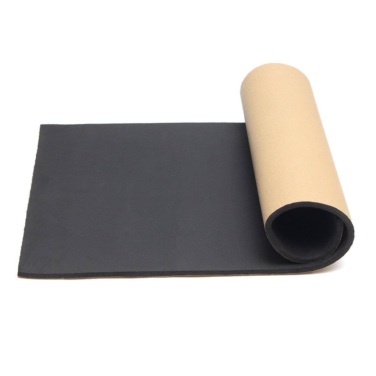 Jeteven 1m x 50cm High Density Foam Rubber Padding Roll Self Closed Cell Foam Waterproof Soundproof Insulation Thermal Foam Car Sound Deadening Mat 1m by Jeteven (Image #1)