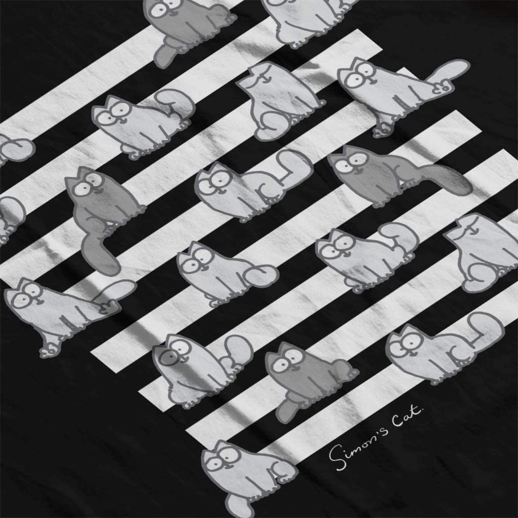Simons Cat Sitting Stripes Womens Vest