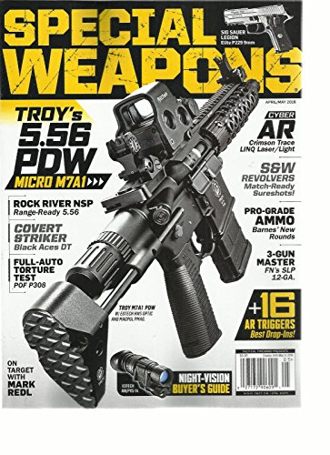 SPECIAL WEAPONS MAGAZINE, APRIL / MAY, 2016 CYBER AR CRIMSON TRACE LINQ - Linq The Stores