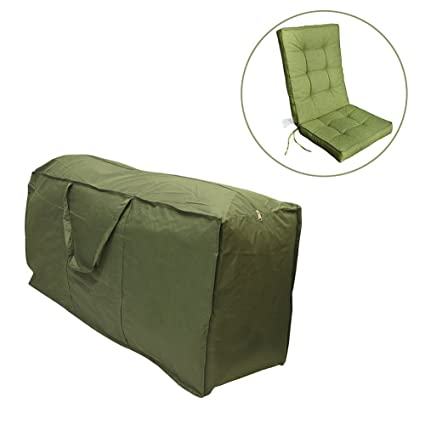 minelife patio cushion cover outdoor patio cushion storage bag durable zippered and water resistant - Patio Cushion Storage