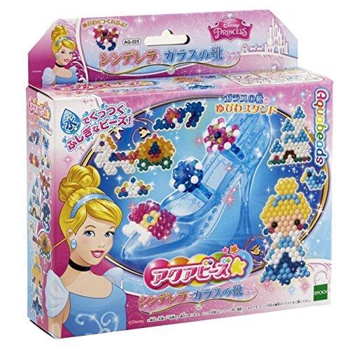 Japan Import Aqua beads Cinderella and the glass slipper set