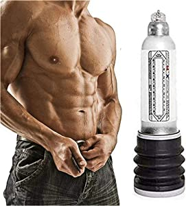 Cheng Relieve Fatigue and Stress Manual Control Pēnǐs Extender Extension Vacuum Pump Muscle Exercise Body Trainning-White