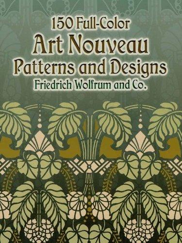 150 Full-Color Art Nouveau Patterns and  - Clipart Nouveau Shopping Results