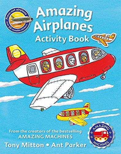 (Amazing Machines Amazing Airplanes Activity book)
