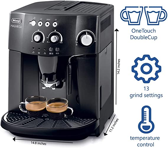 DeLonghi ESAM 4000.B - Cafetera (Independiente, Totalmente ...