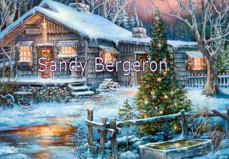 Bergeron Christmas Cards.Amazon Com Sandy Bergeron Cold Creek Stage Stop