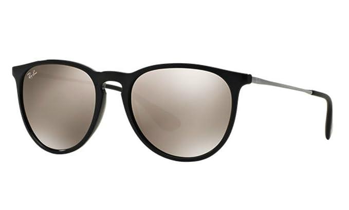 67b7c1475169f Amazon.com  Ray-Ban Brown Mirror Gold Erika Sunglasses RB 4171 601 5A + SD  Glasses + Kit  Clothing