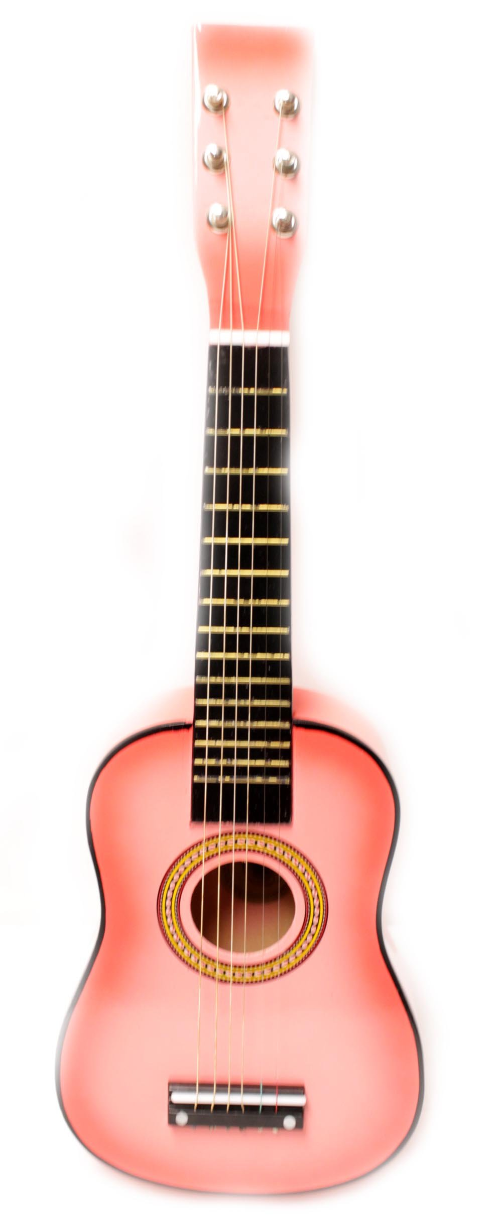 23'' Childrens Toy Pink Acoustic Guitar :String Instrument