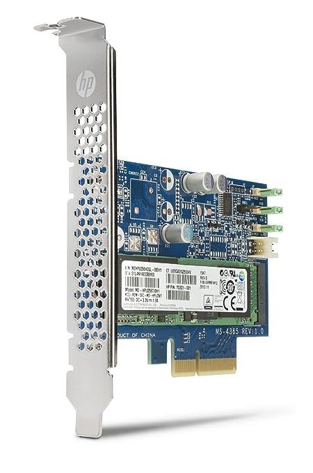 HP Unidad de Estado sólido PCIe Turbo Drive de 256 GB - Disco Duro sólido (