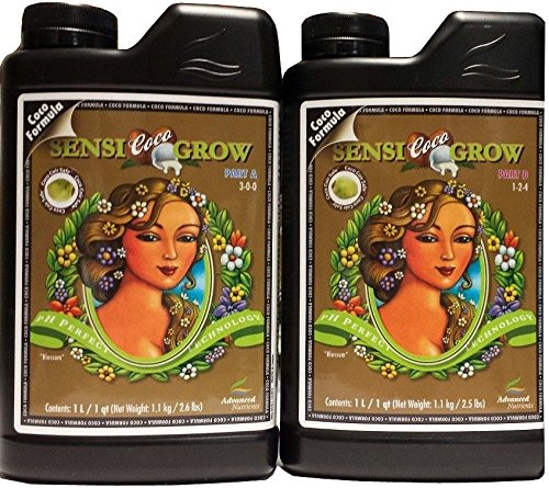 Advanced Nutrients Sensi Coco Grow 10 Liter A and B by Advanced Nutrients