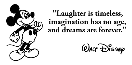 Amazon.com: BellaCross Unofficial Laughter is Timeless Walt ...