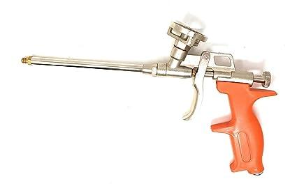 Espuma pistolas, diseño Espuma Pu Expanding Foam Pistola de calafateo, espuma de poliuretano Foam metal cuerpo ...