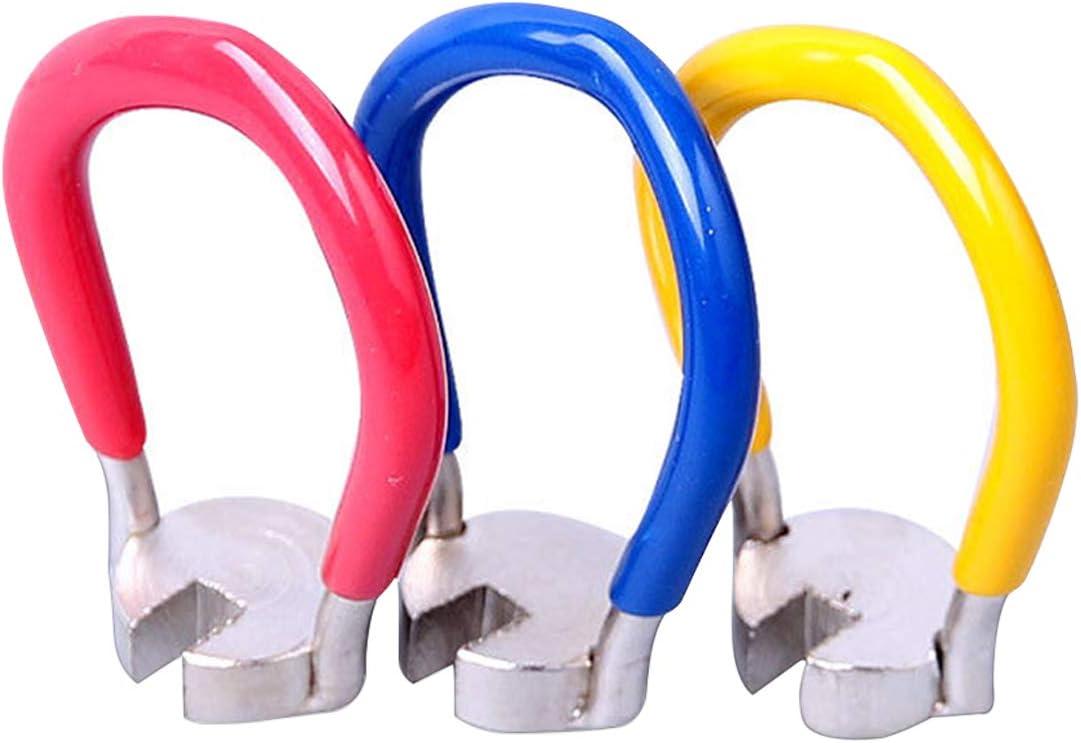 Llave para Radios de Bicicletas, bicicleta radios de rueda llanta herramienta-Juego de 3 llaves para bicicleta de montaña - mangas de 14 G