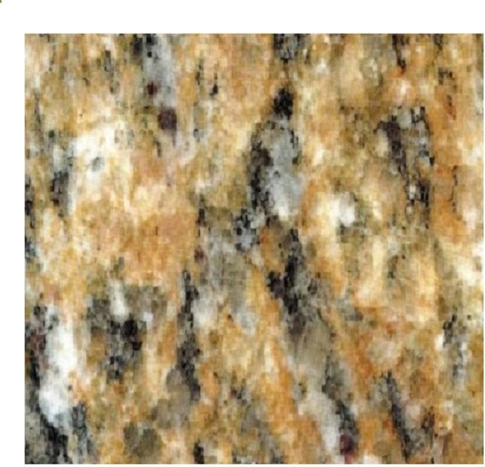 "EZ FAUX DECOR Instant Venetian Gold/Santa Cecilia Marble Granite Countertop Film Self Adhesive Vinyl Laminate Counter Top Peel and Stick NOT Contact Paper (36"" x 180"")"