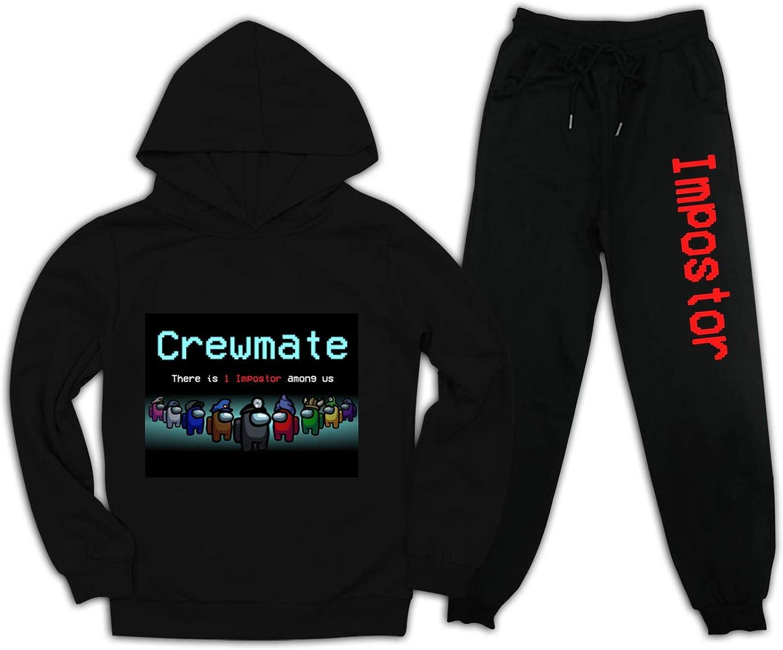 Heneray Among Game Unisex Crewmate Astronaut Sus Imposter Kids Hoodies Cool Streetwear
