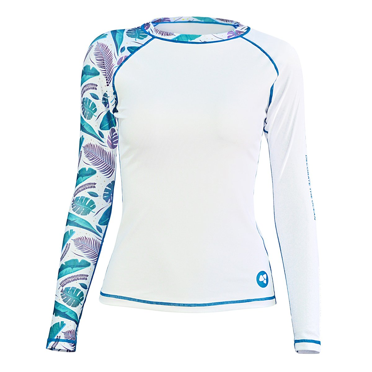 LayaTone Rash Guard Women Long Sleeves Swimsuit Swimwear Tops Girl Dive Skin Surf Suit Water Sports T-Shirts Girl by LayaTone