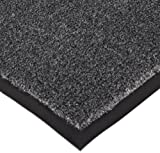 Notrax 130 Sabre Decalon Entrance Mat, for Entranceways and Light to Medium Traffic Areas, 2' Width x 3' Length x 5/16'' Thickness, Charcoal
