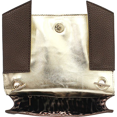 York Crossbody Trina Miller New Clutch Gold Copper Nicole qXEF7t