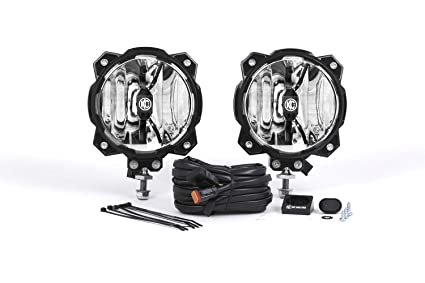 Single Light System KC HiLiTES 91300 Gravity LED Pro6 Single Spot Beam