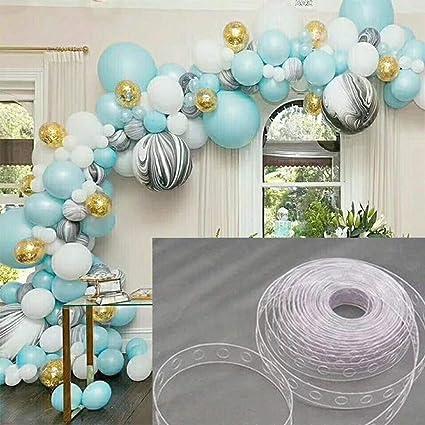 Amazon.com: Chenway - Cinta de cadena para globos, guirnalda ...