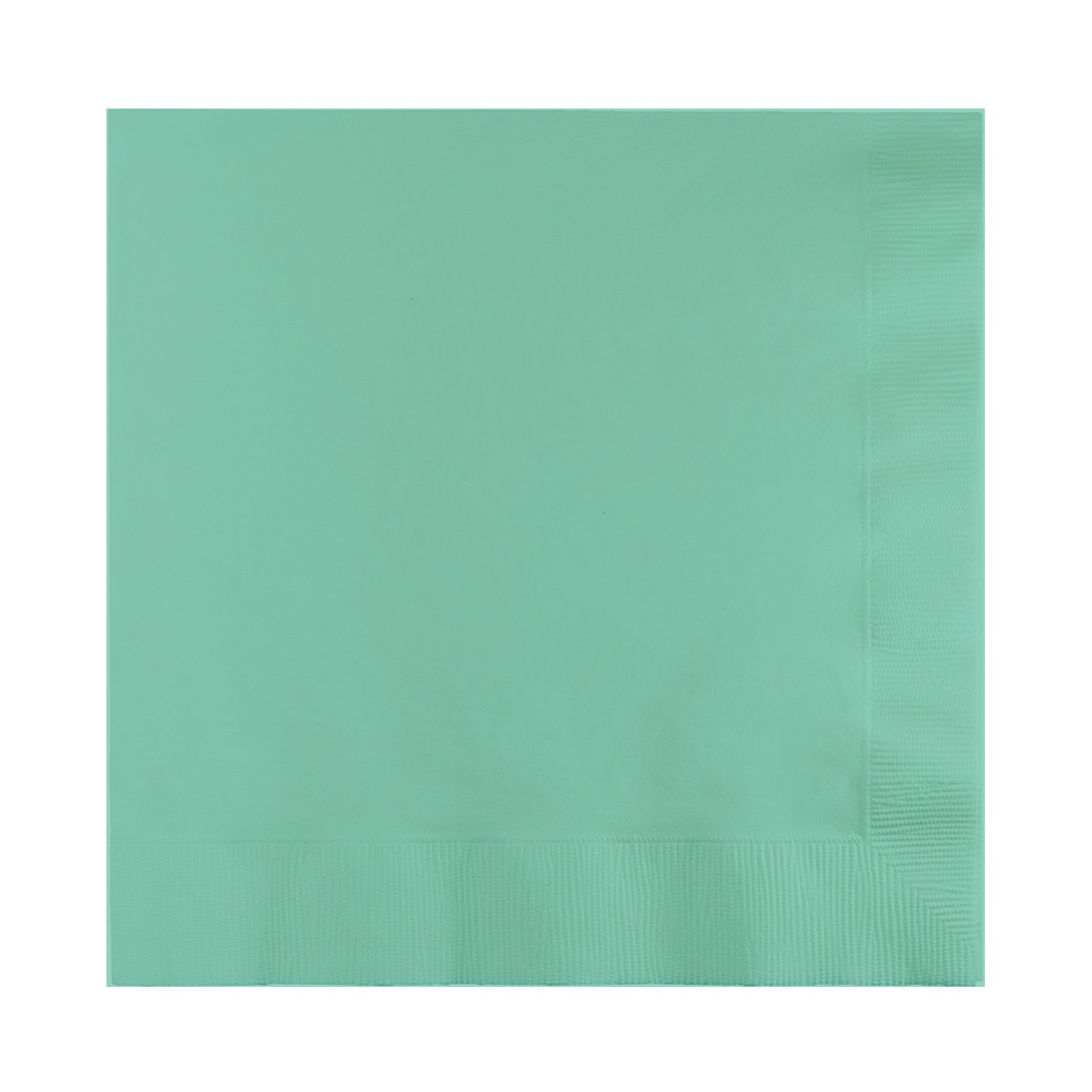 BirthdayExpress Mint Beverage Napkins