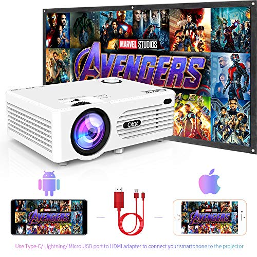 4 QKK 2400Lux Projector Supported Entertainment