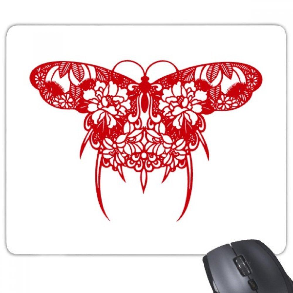中国伝統文化カイト用紙カットノンスリップゴムマウスパッドゲームOfficeマウスパッドギフト B0761VK834