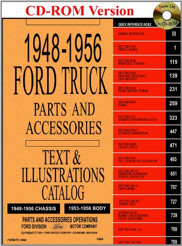 1948-56 Ford Truck Master Parts and Accessory Catalog