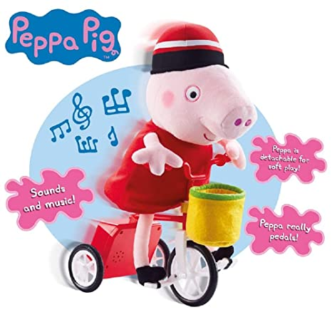 Amazon Com Musical Cycling Peppa Toys Games
