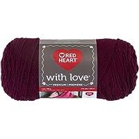 Coats & Clark Red Heart with Love Hilo, Merlot