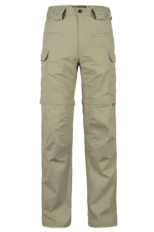 HARD LAND Men's Convertible Waterproof Work Trousers Teflon Tactical Pants Outdoors Hiking Camping Pants
