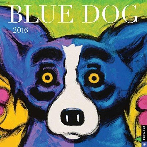 Angels 2016 Wall Calendar - Blue Dog 2016 Wall Calendar by George Rodrigue (2015-07-28)