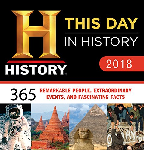 2018 History Channel This Day in History Boxed Calendar: 365 Remarkable People, Extraordinary Events, and Fascinating Facts cover