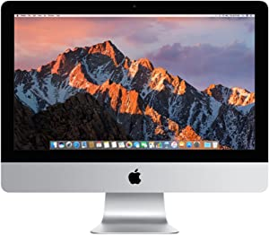 Apple iMac (21.5-inch, 2.3GHz dual-core Intel Core i5, 8GB RAM, 1TB HDD) - Silver (Previous Model) (Renewed)