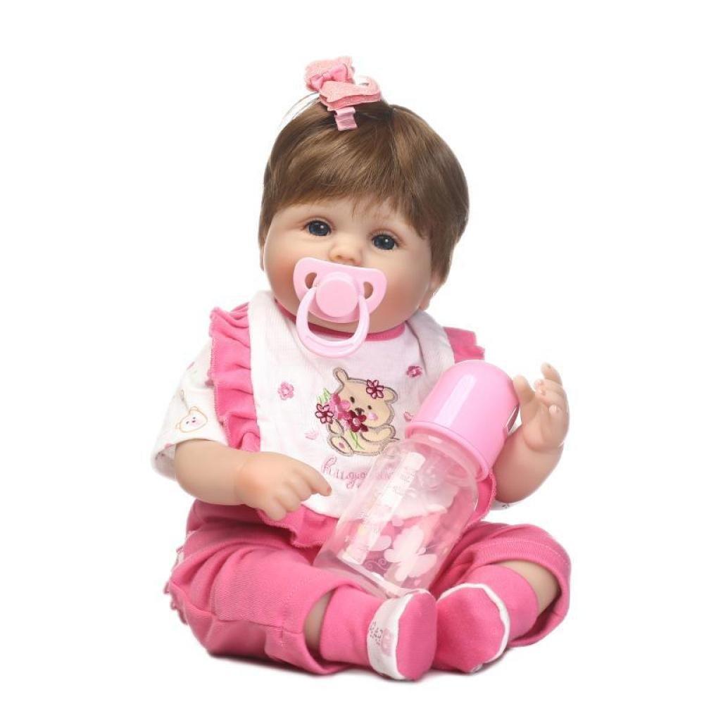 JHGFRT Toy Doll Cute Simulation Baby Toy Regalo Creativo Personalizado De Alta Gama