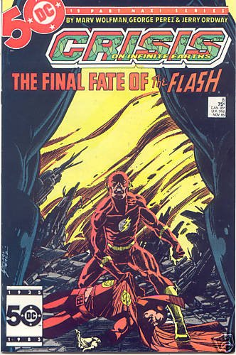 Crisis on Infinite Earths #8 : A Flash of the Lightning (Death of the Flash - DC Comics) (Star Wars Flash Wars)