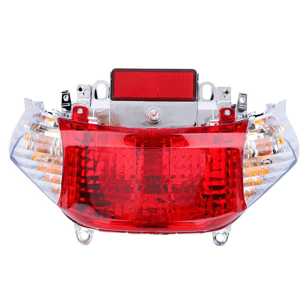 Duokon LED Rear Tail Light,Motorcycle 50cc ABS Turn Signal Lamp Assembly Fit for Sunny MOped US