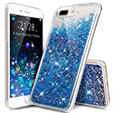 #8: iPhone 7 Plus Case,ikasus iPhone 7 Plus Liquid Case,iPhone 7 Plus [Liquid Glitter] Case,Creative Design Flowing Liquid Floating Bling Glitter Sparkle Stars Hexagon Hard Case for iPhone 7 Plus 5.5