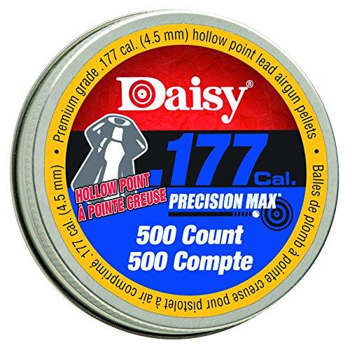 Daisy Ammunition & CO2 .177 Cal. Hollow Point Pellets 500 c ()