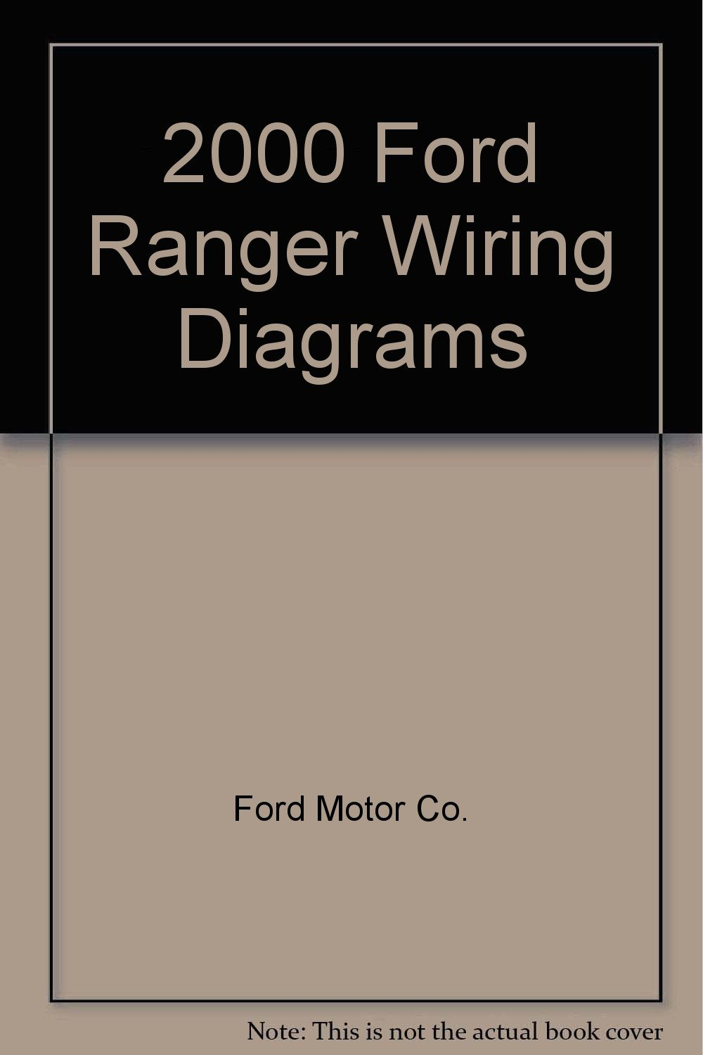Radio Wiring Diagram Ford Ranger 1995