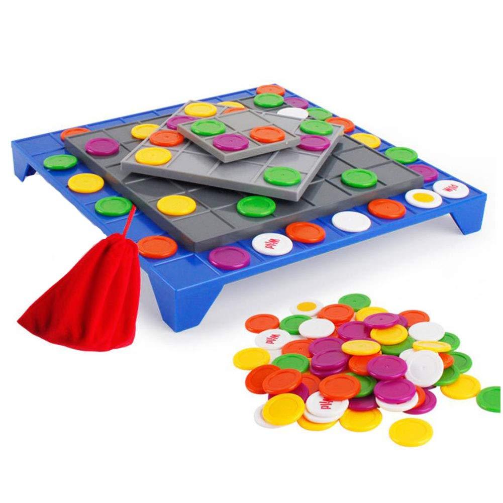 vendiendo bien en todo el mundo ANGLE Juego de Mesa giratoria de los los los niños Cuatro Tablero de ajedrez Props Juego Padre-niño Interactivo Partido de la Familia Rompecabezas Manual Cerebro Juguete  punto de venta en línea