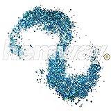 Hemway Turquoise Holographic Mix Glitter Chunky