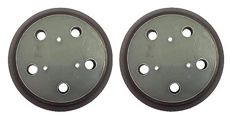 Amazoncom Khy 2 Sander Pad 5 Inch Hook Loop Five Vacuum Holes