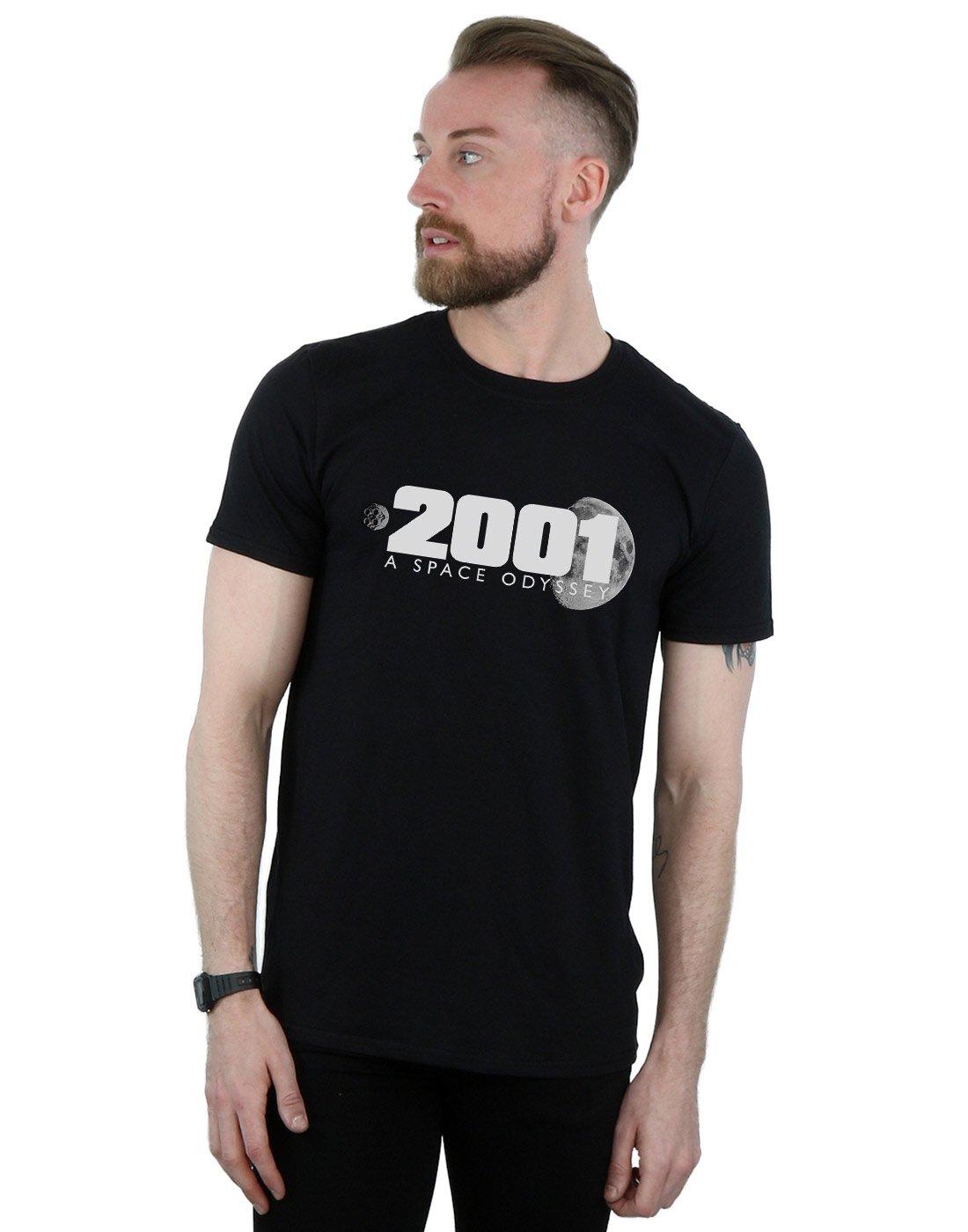 2001 A Space Odyssey Moon Logo T Shirt 2055