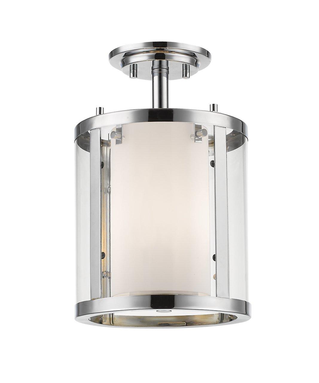 Z-Lite 426SF-CH 3 Light Semi-Flush Mount 3 by Z-Lite